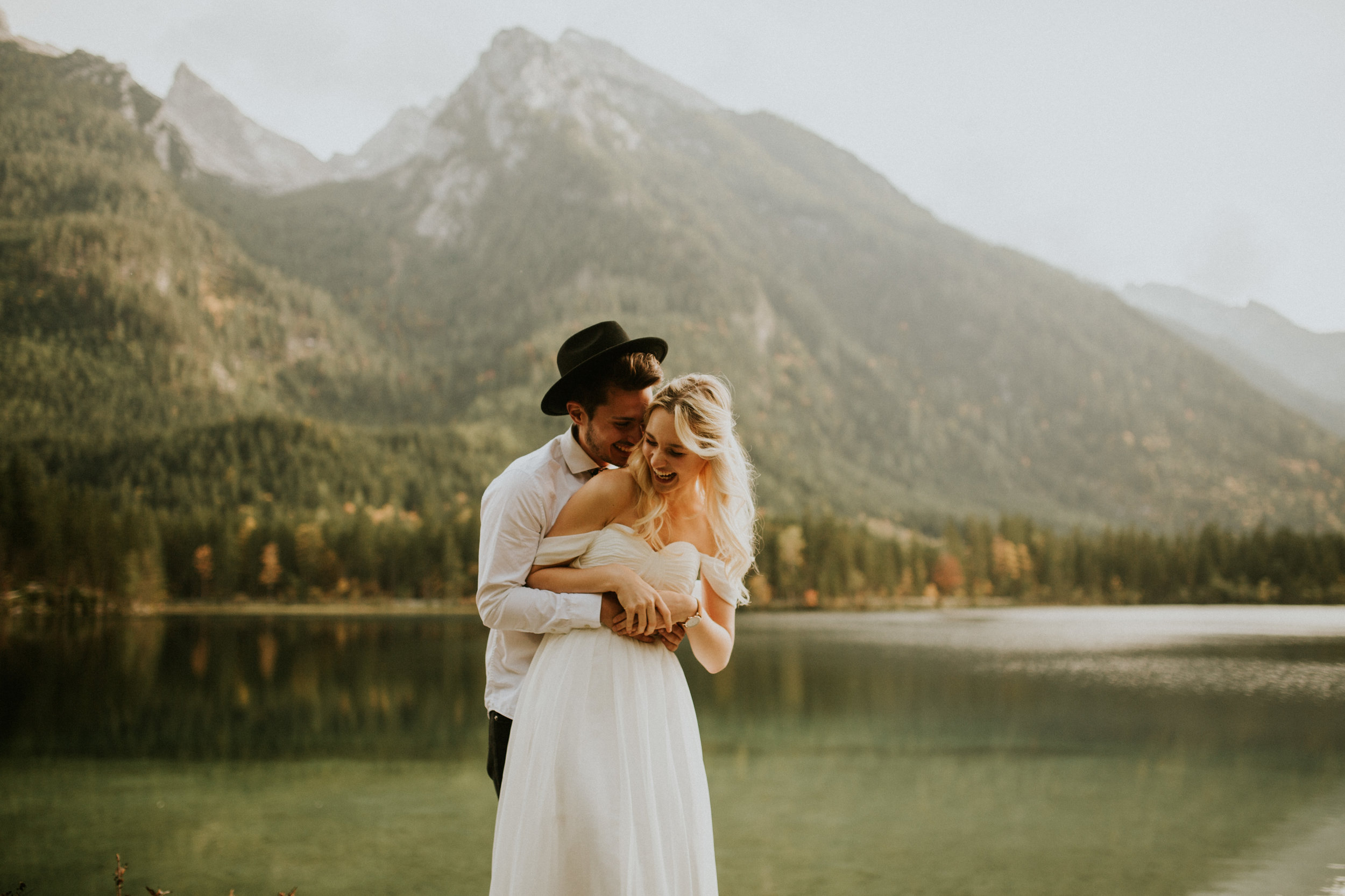 An elopement in the Austrian Alps by BreeAnna Lasher