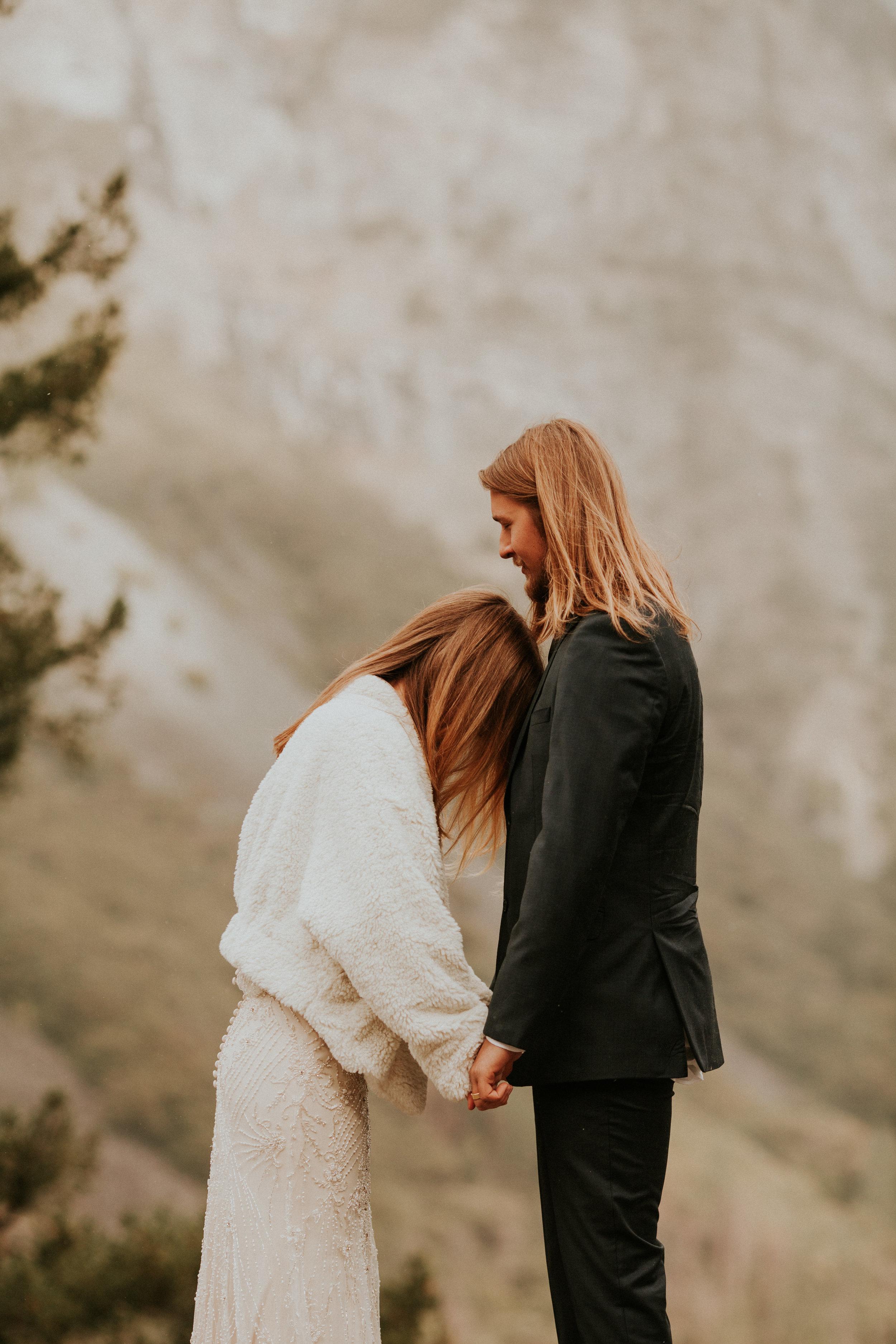 yosemite intimate wedding by breeanna lasher