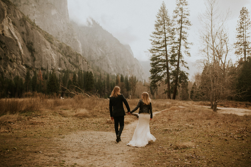 yosemite elopement photography