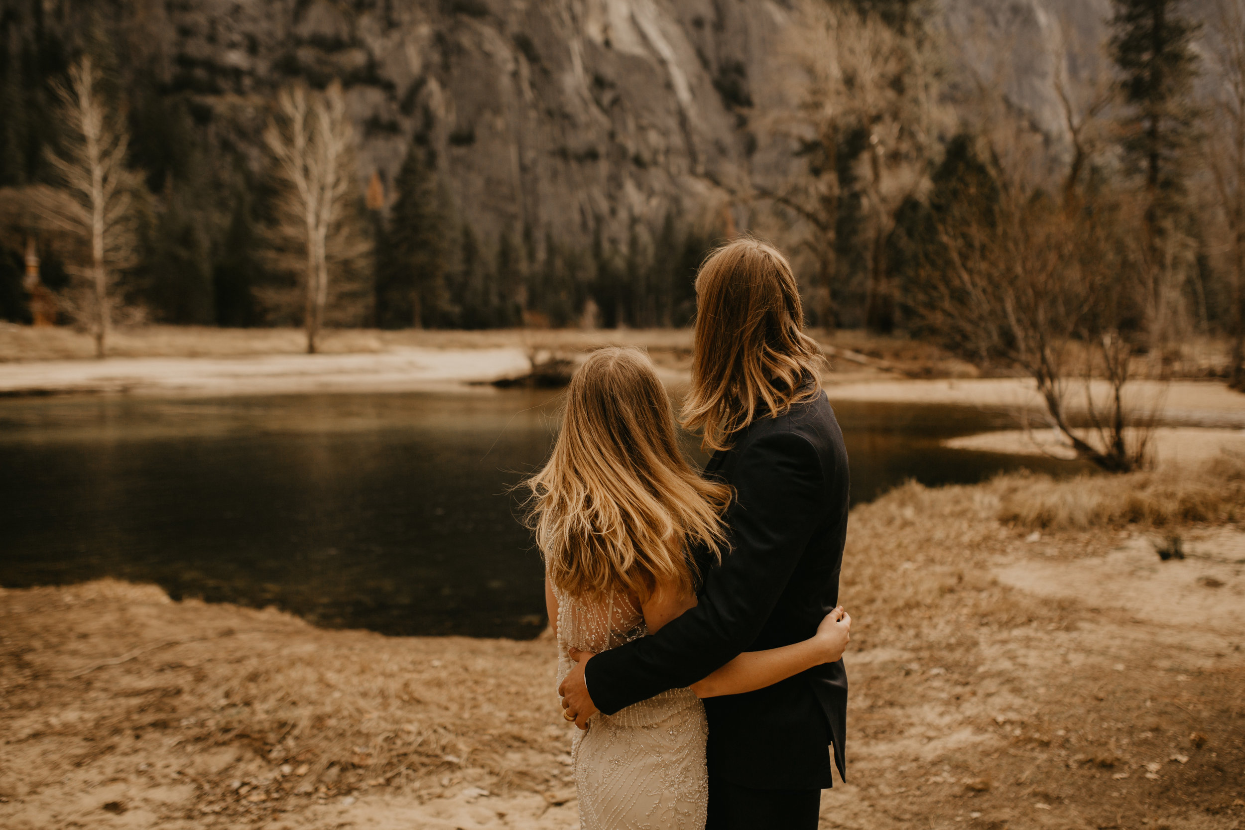 yosemite national park elopement in cooks meadow photographer by breeanna lasher