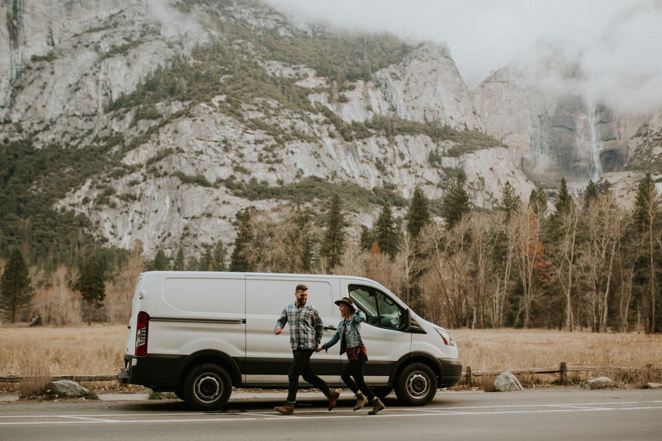 yosemite engagement session photography by BreeAnna Lasher