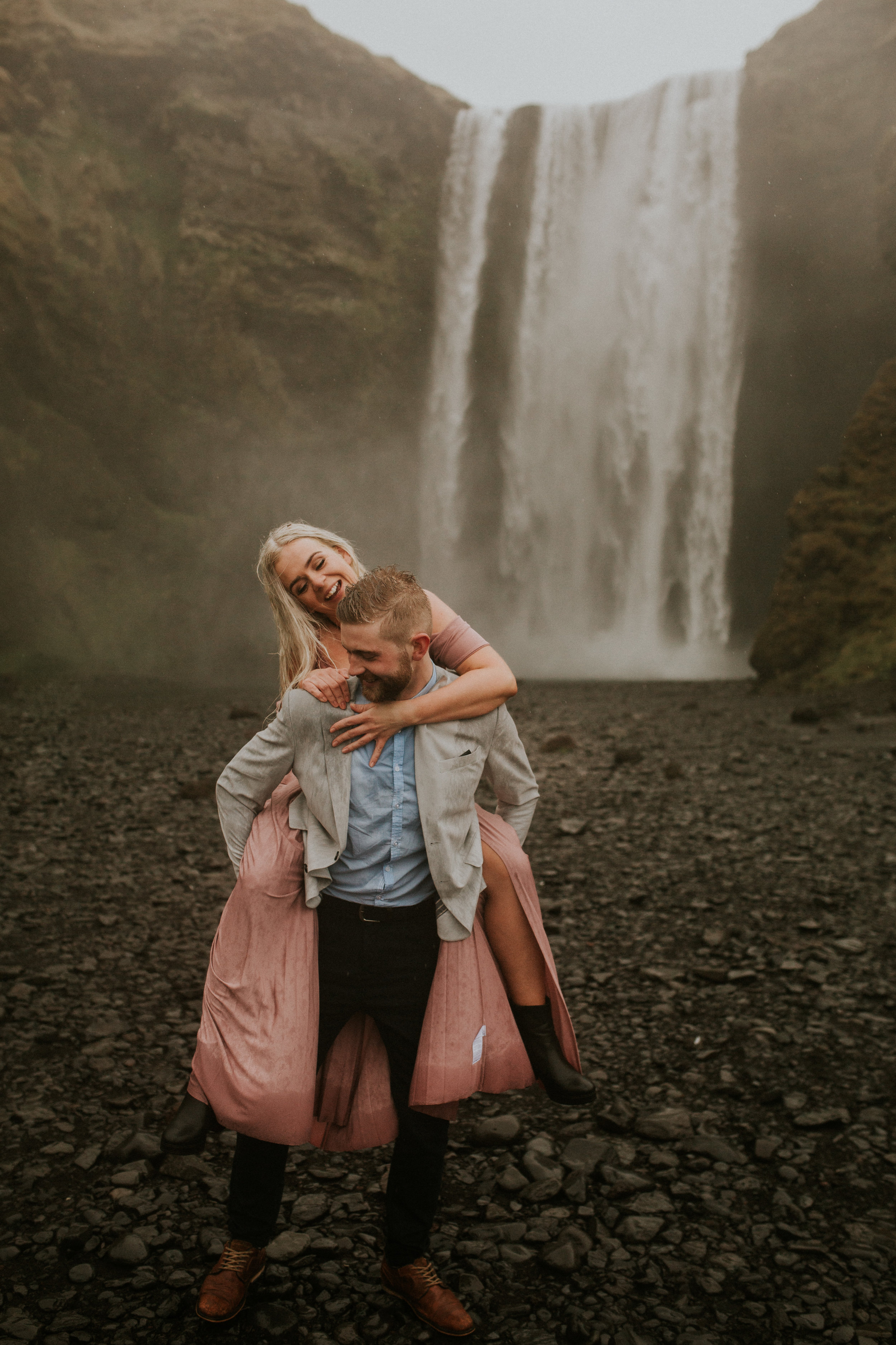 icelandic elopement by skogafoss in iceland by breeanna lasher
