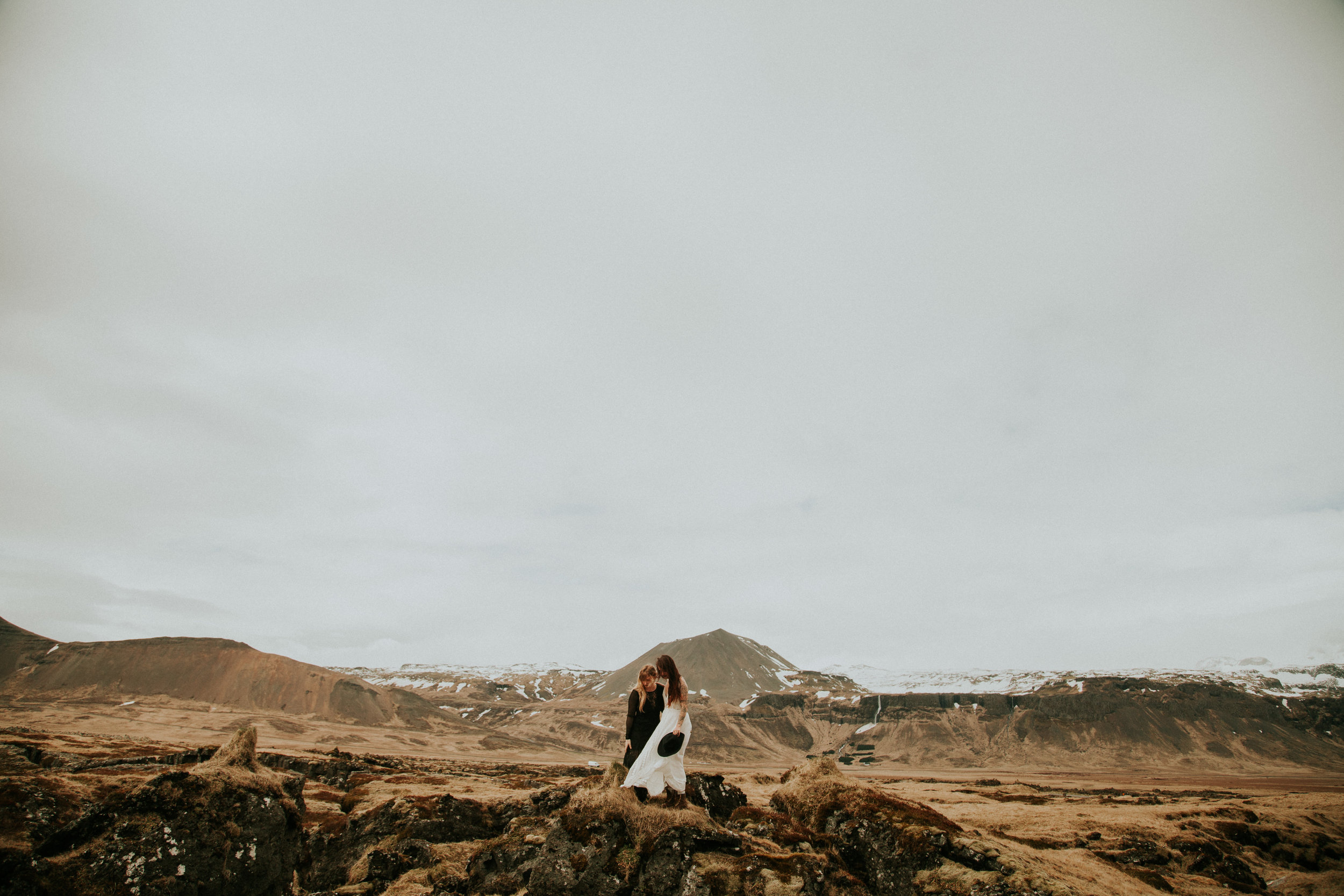 icelandic elopement by black church