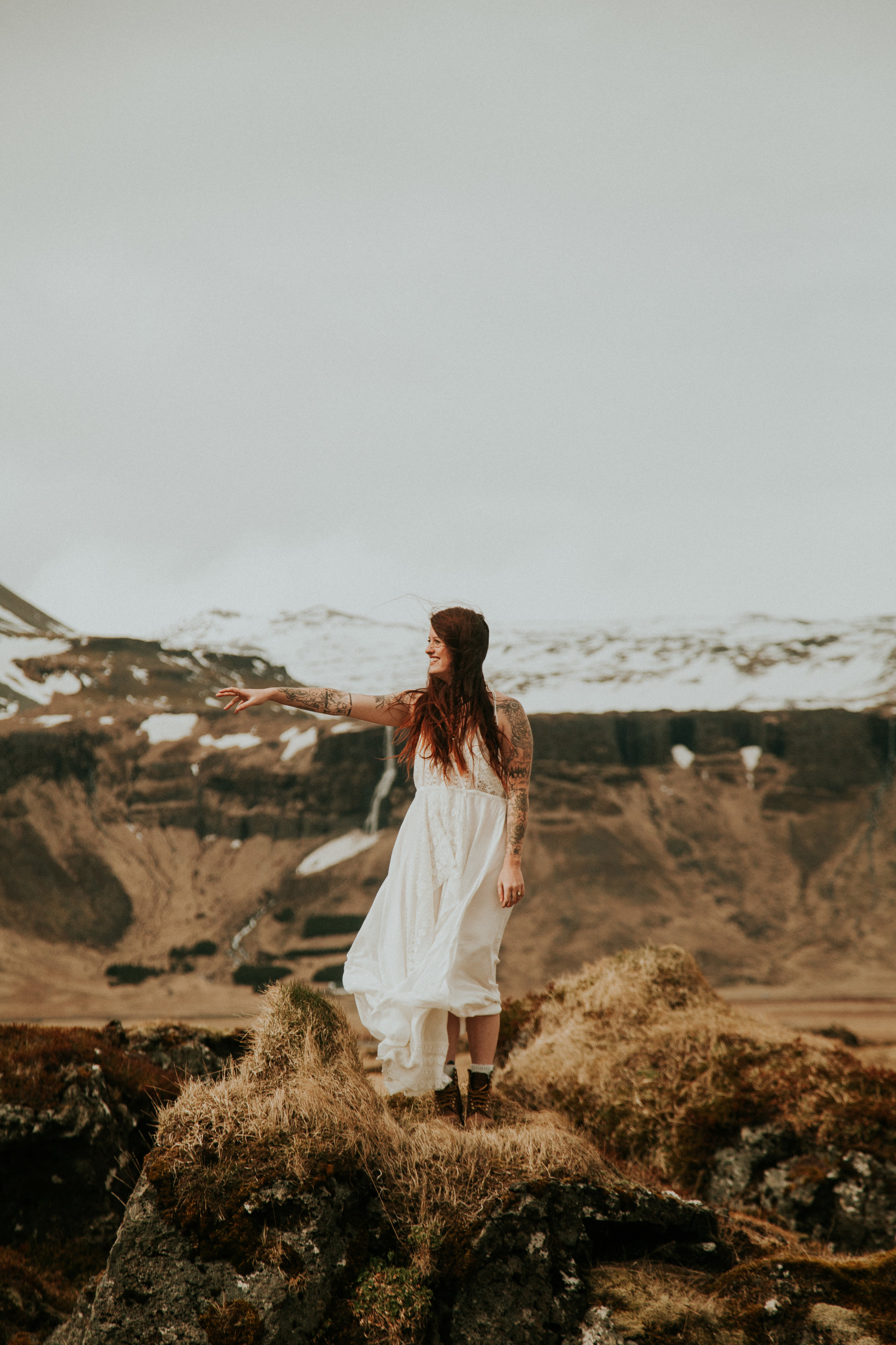 same sex couple iceland elopement