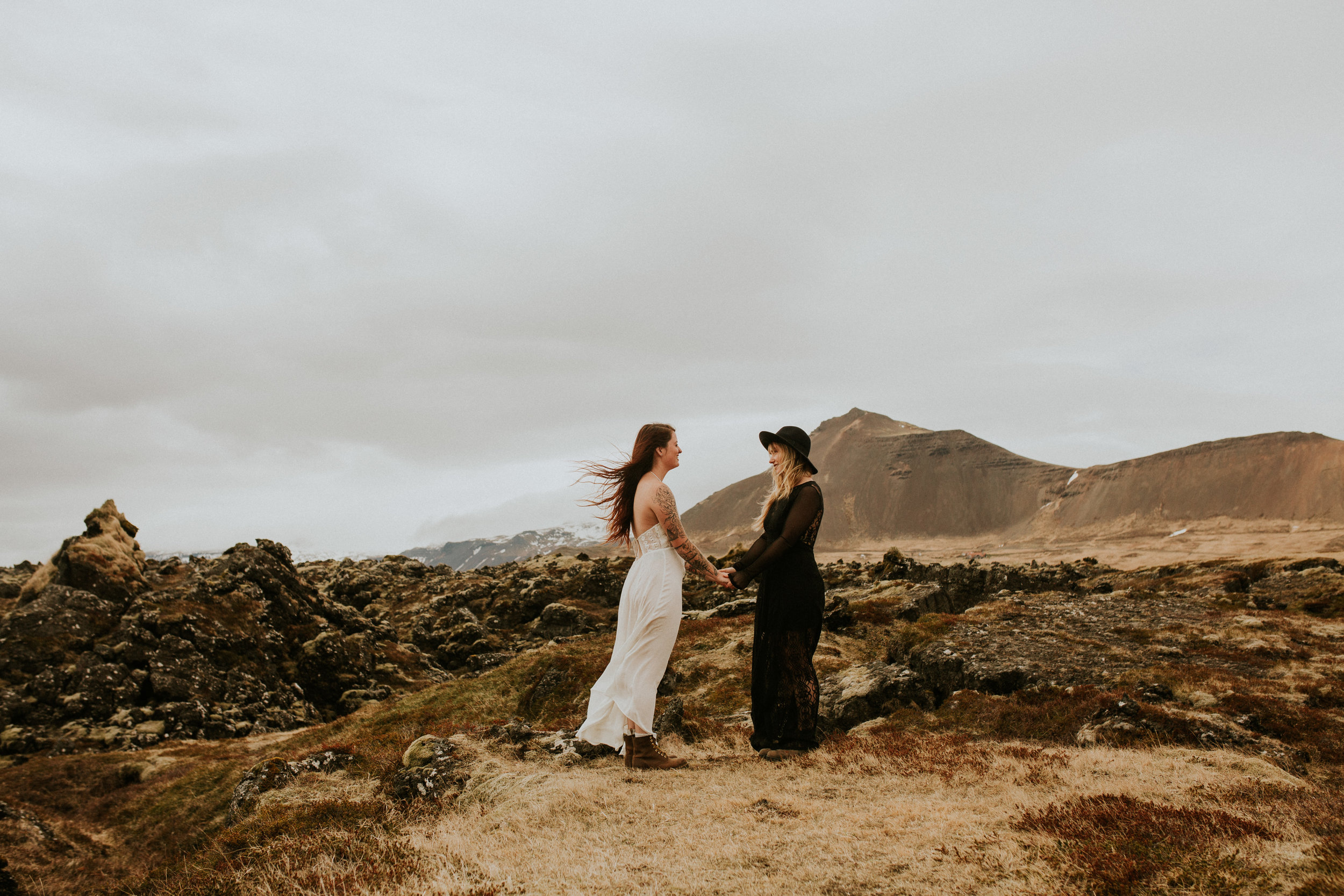 icelandic elopement photography by BreeAnna Lasher