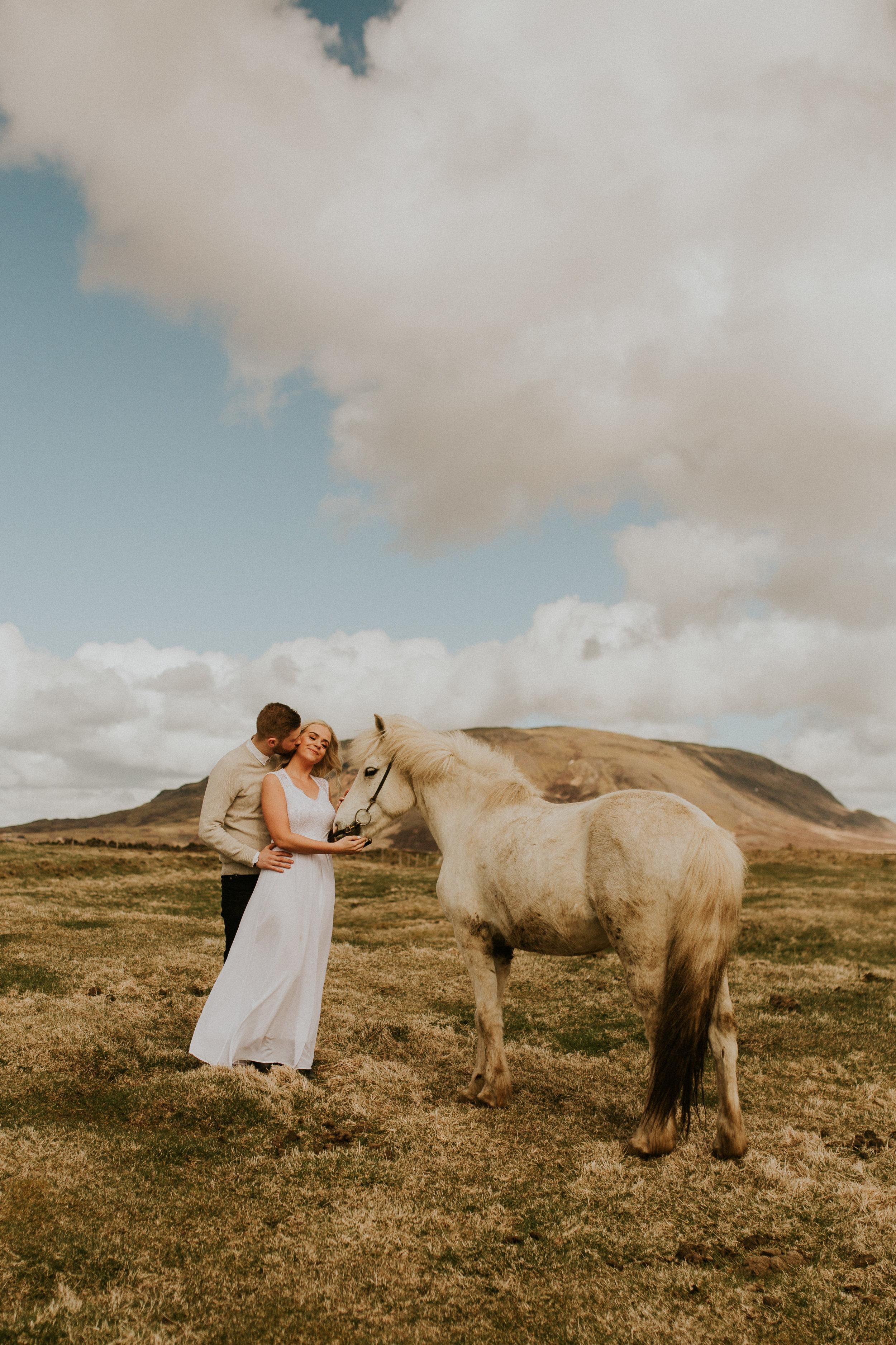 iceland horse farm elopemnet by breeanna lasher photographer