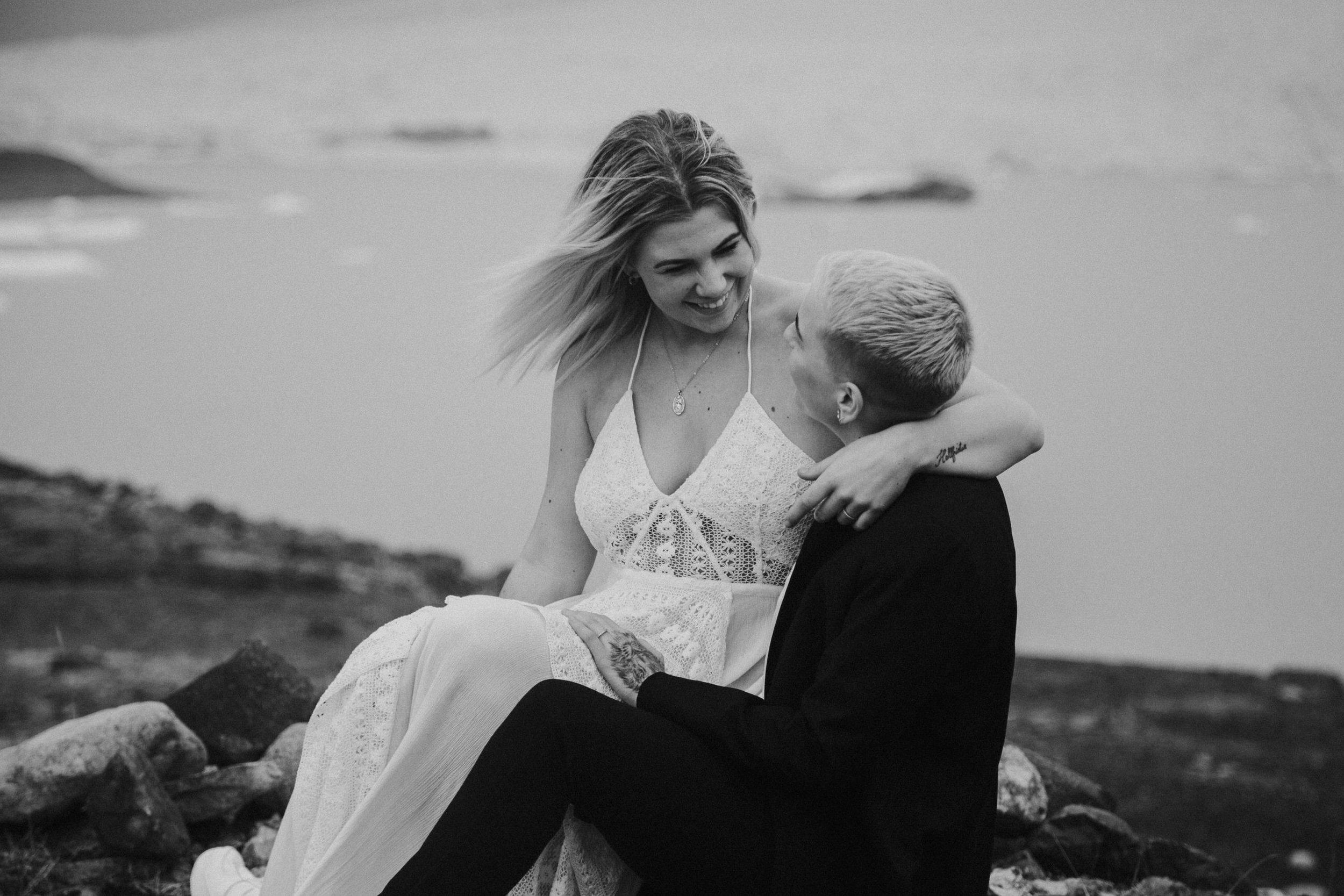iceland elope destination elopement by photographer BreeAnna Lasher