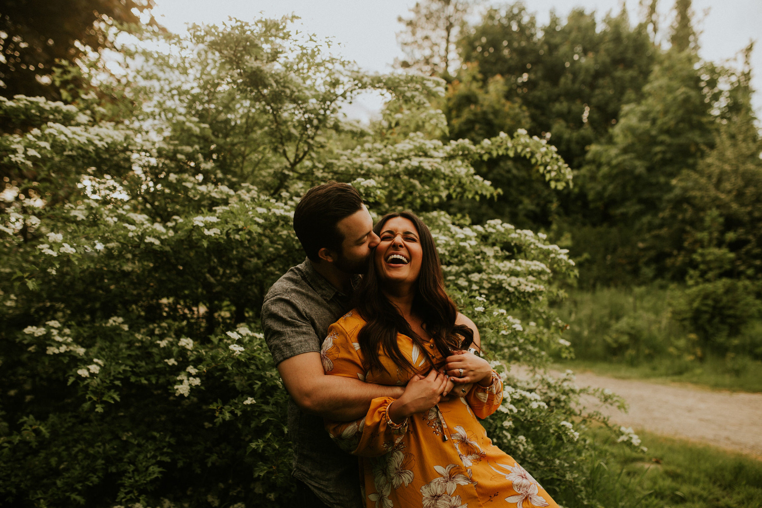 Miriam + Kyle discovery park engagement session seattle elopement photographer breeanna lasher