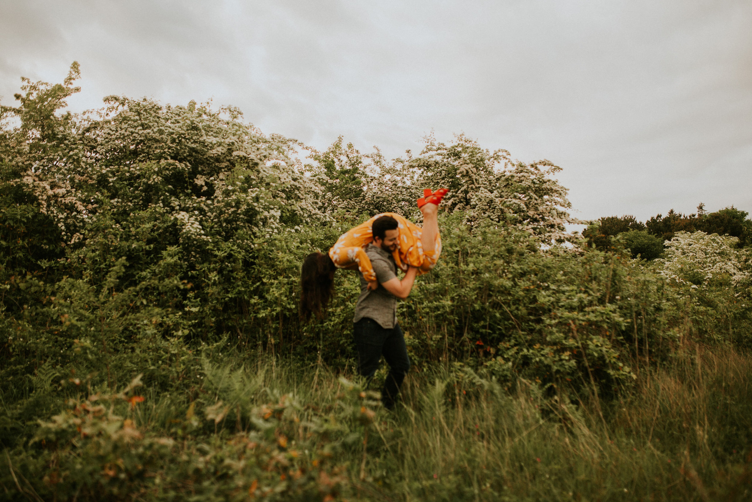 Tacoma flower session elopement photography breeanna lasher