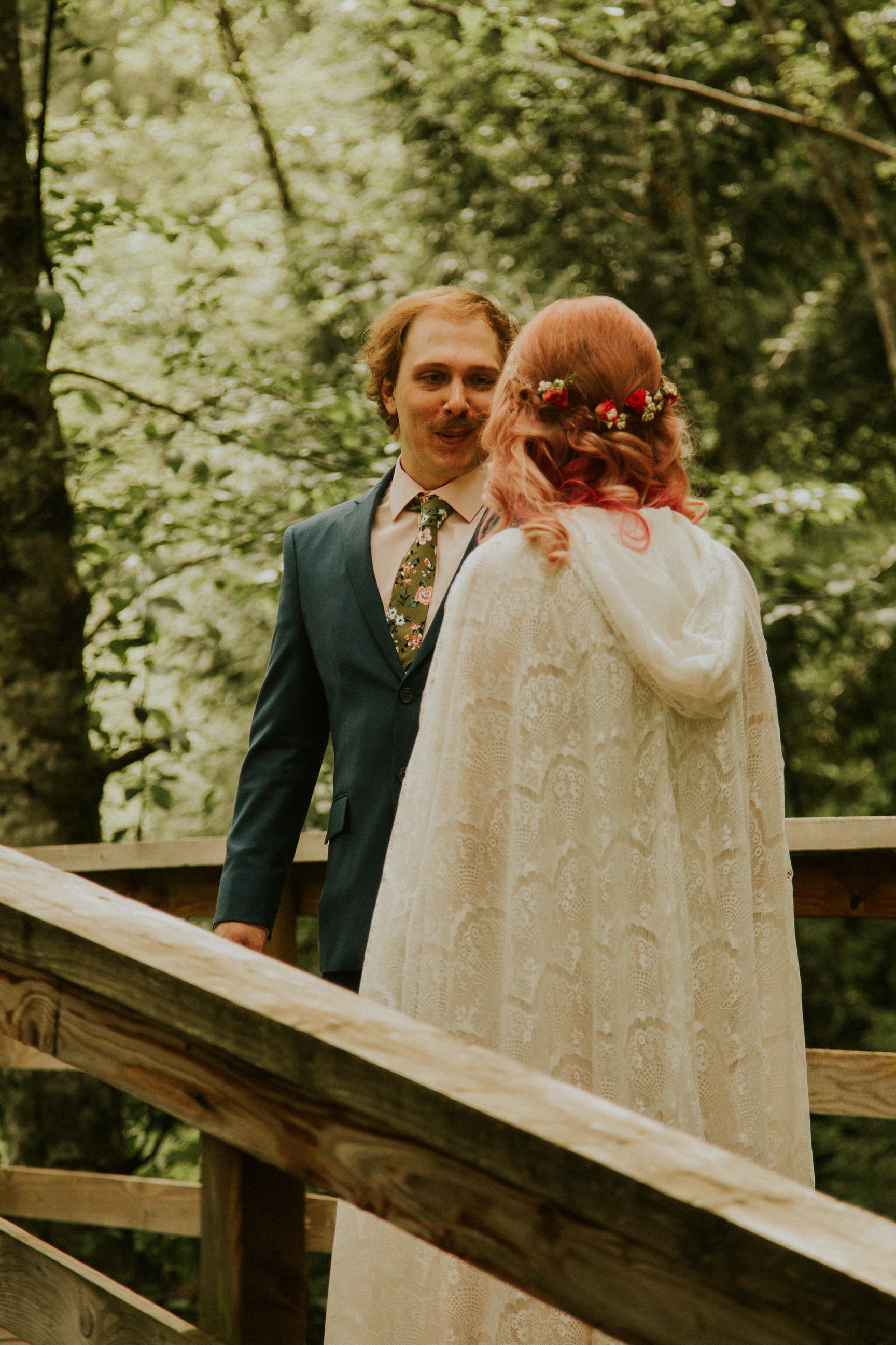 cedar springs elopement first look