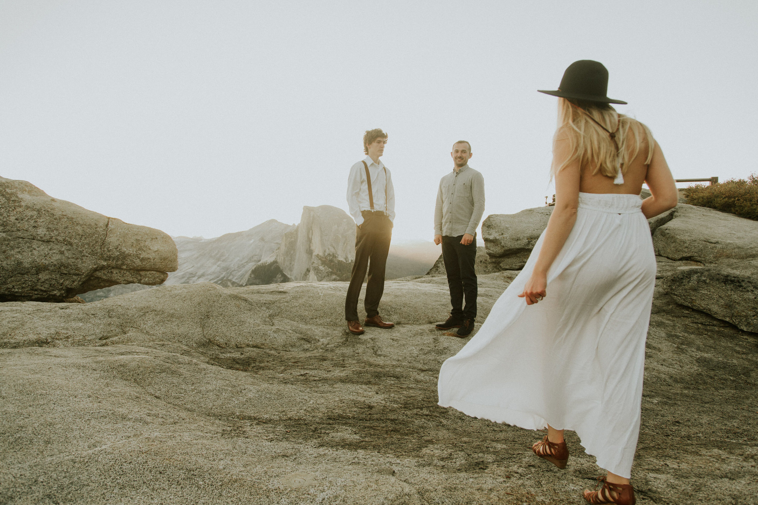 How to elope in a national park