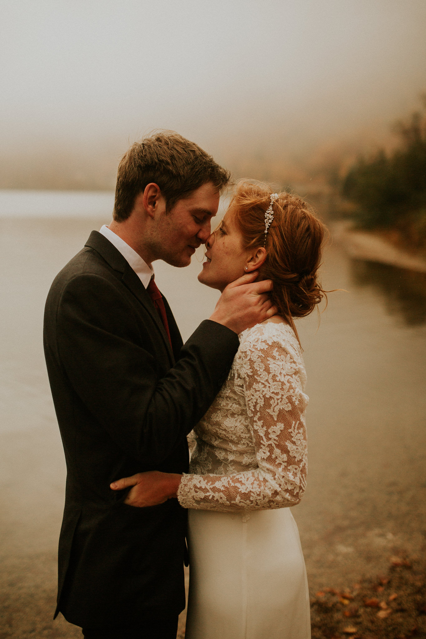 new england elopement in the fall