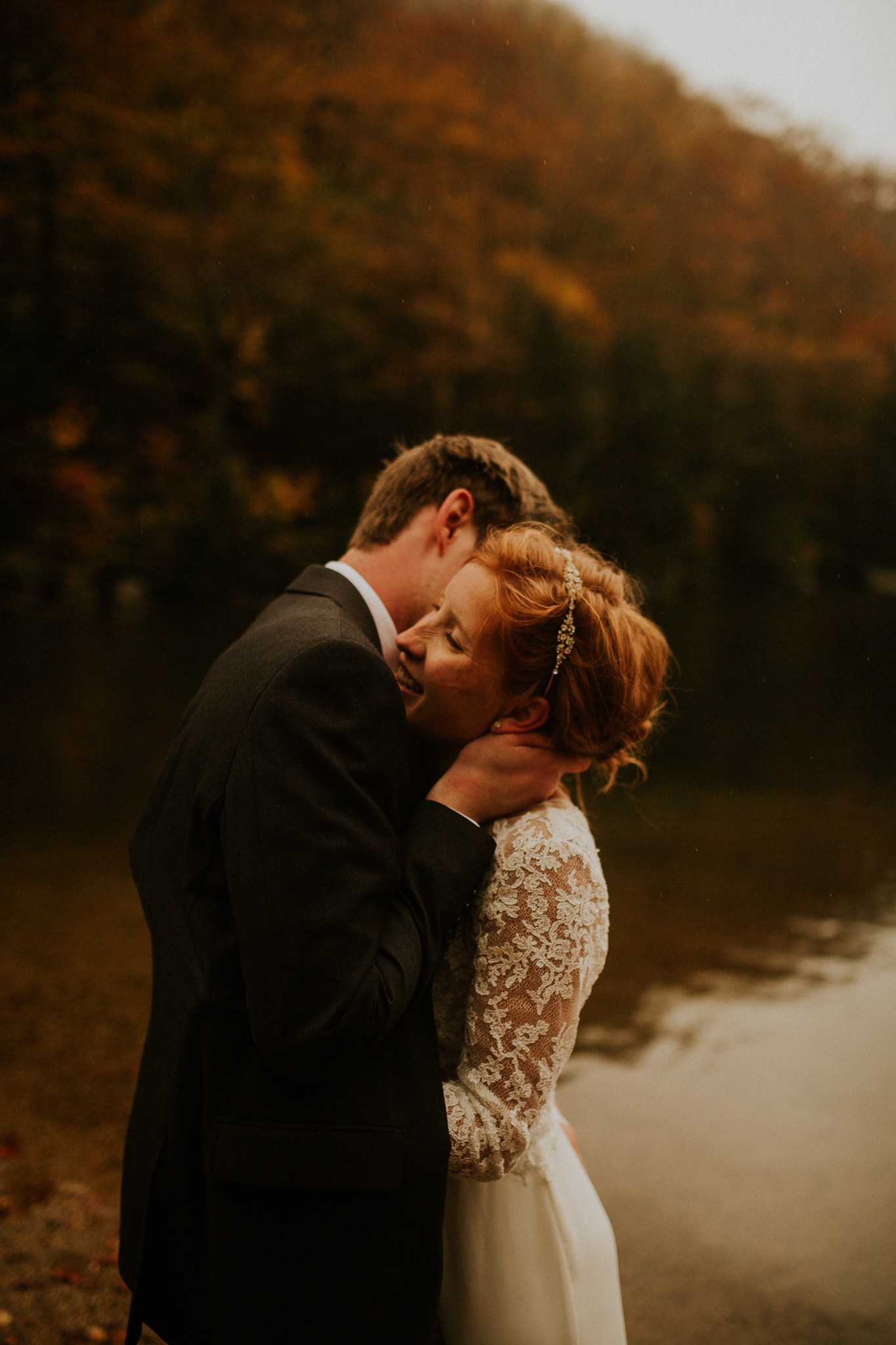 elopement in new england in the fall
