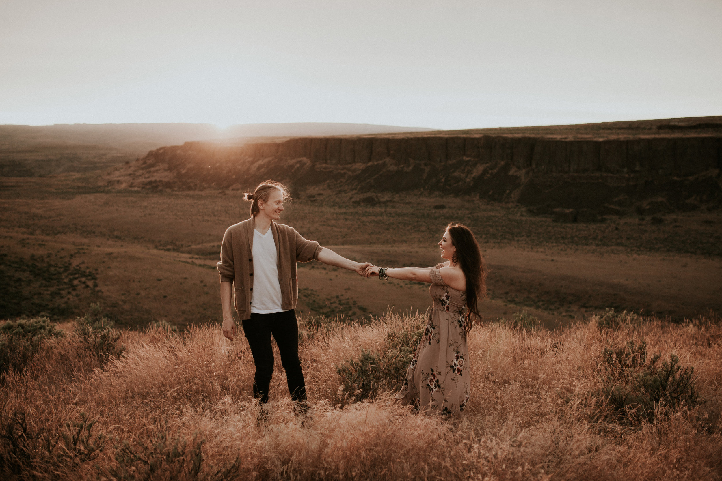 Vow renewal photography at vantage washington