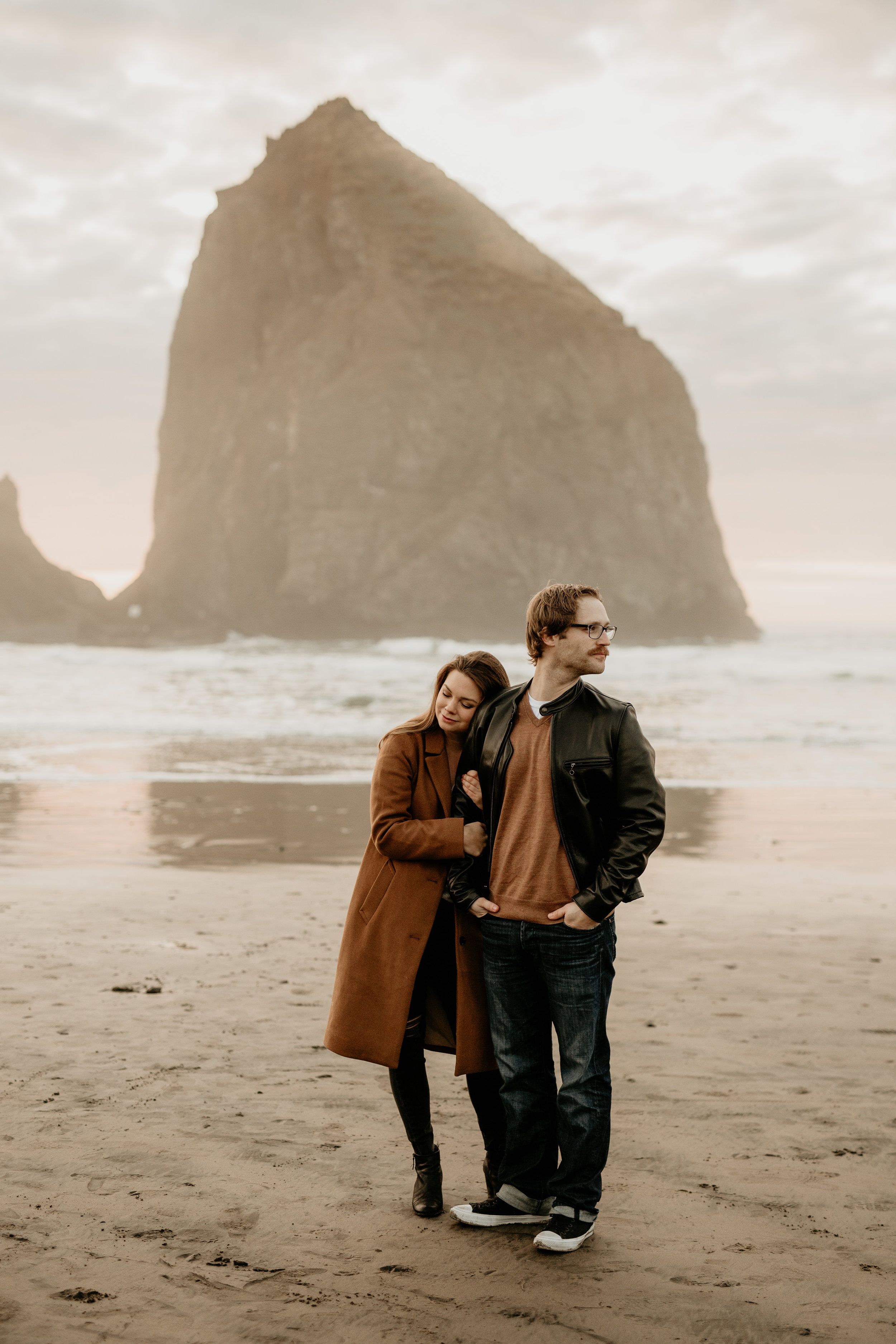 Cannon Beach photography - Cannon Beach sunset - cannon beach photos photos - cannon beach photographer - cannon beach Wedding photography - Oregon engagement locations - best PNW Elopement locations - best Oregon photographers - Cannon beach engagement session - Cannon beach sunset engagement photos - best engagement outfits - best Oregon photography - beach engagement photography - oregon beach Wedding Photography - cannon beach hike - seaside engagement photography BreeAnna lasher - Astoria engagement photography - hug point engagement photos - arch cape engagement photos - Oswald state park engagement photos - cola state park engagement photos