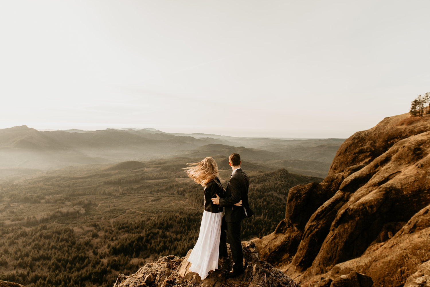 Seattle elopement photography on hurricane ridge