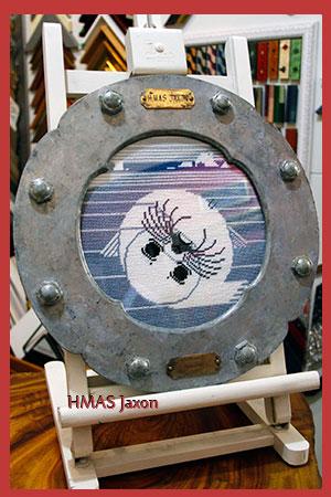 HMAS Jaxon - ARTIS PURA Custom Framing