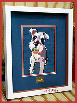 Evie May = ARTIS PURA Custom Framing