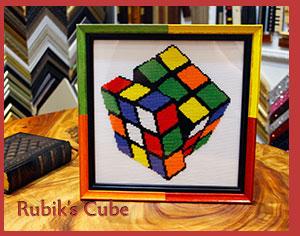 Rubik's Cube - ARTIS PURA Custom Framing