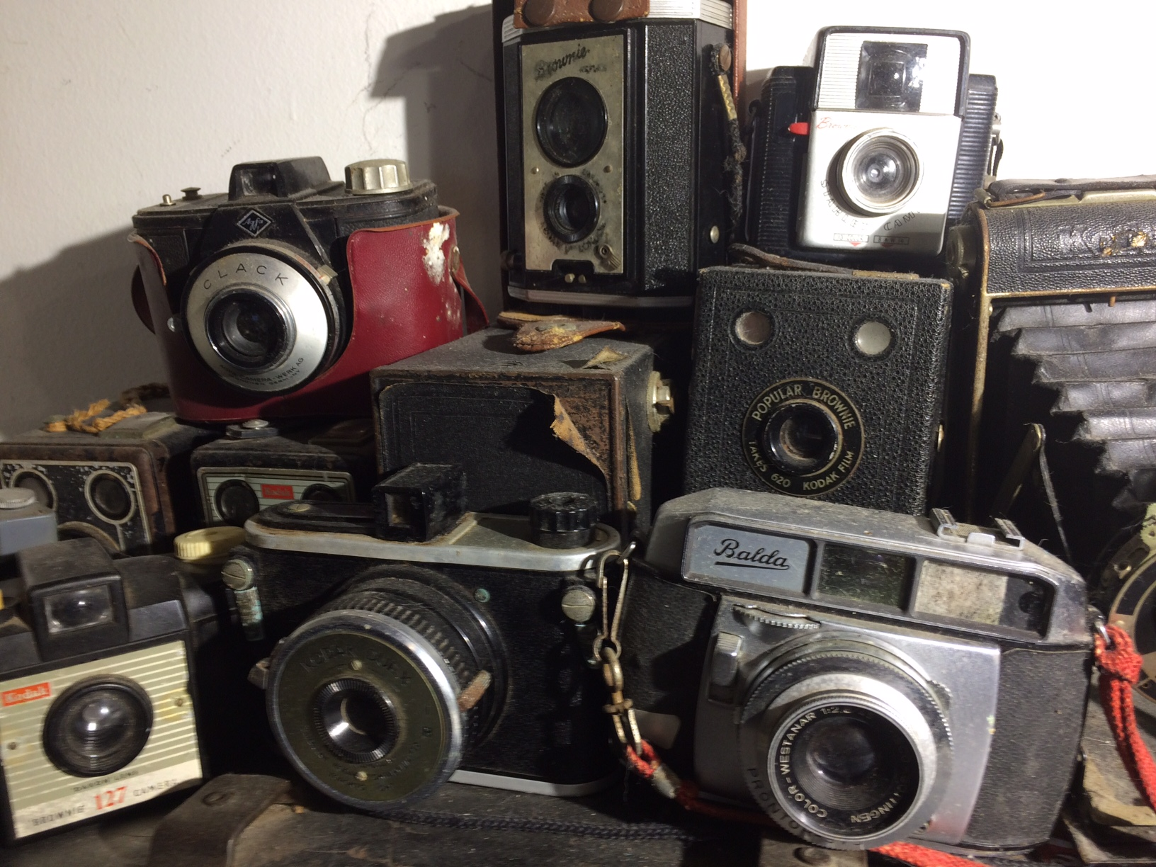 Private camera collection.  Photography by Cassandra Lehman