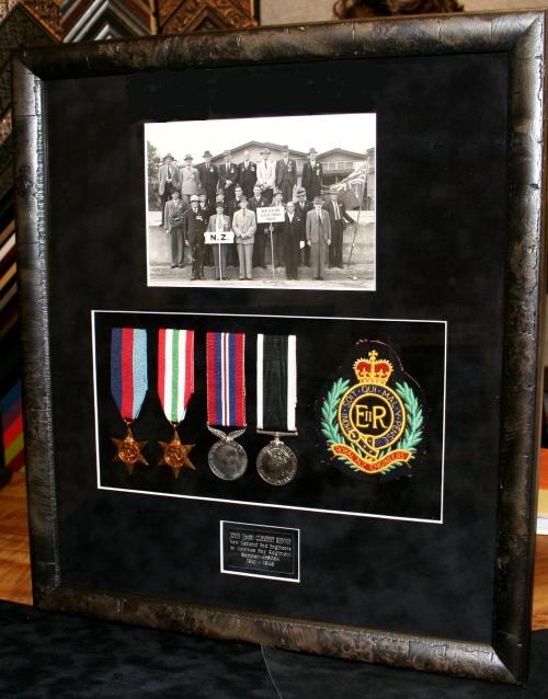 Framing War Service Medals Brisbane