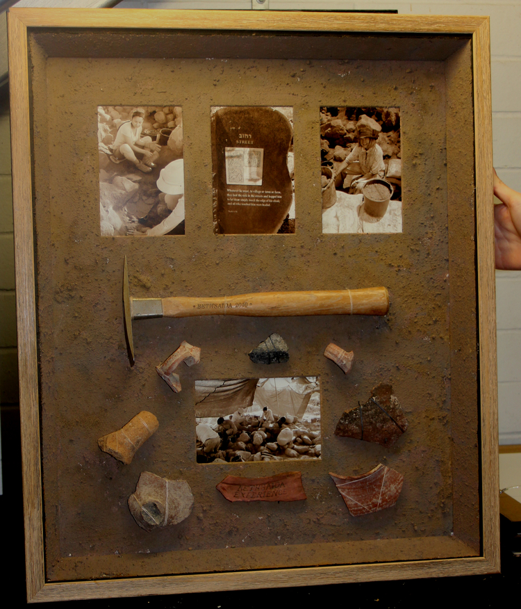 creative framing archeological dig