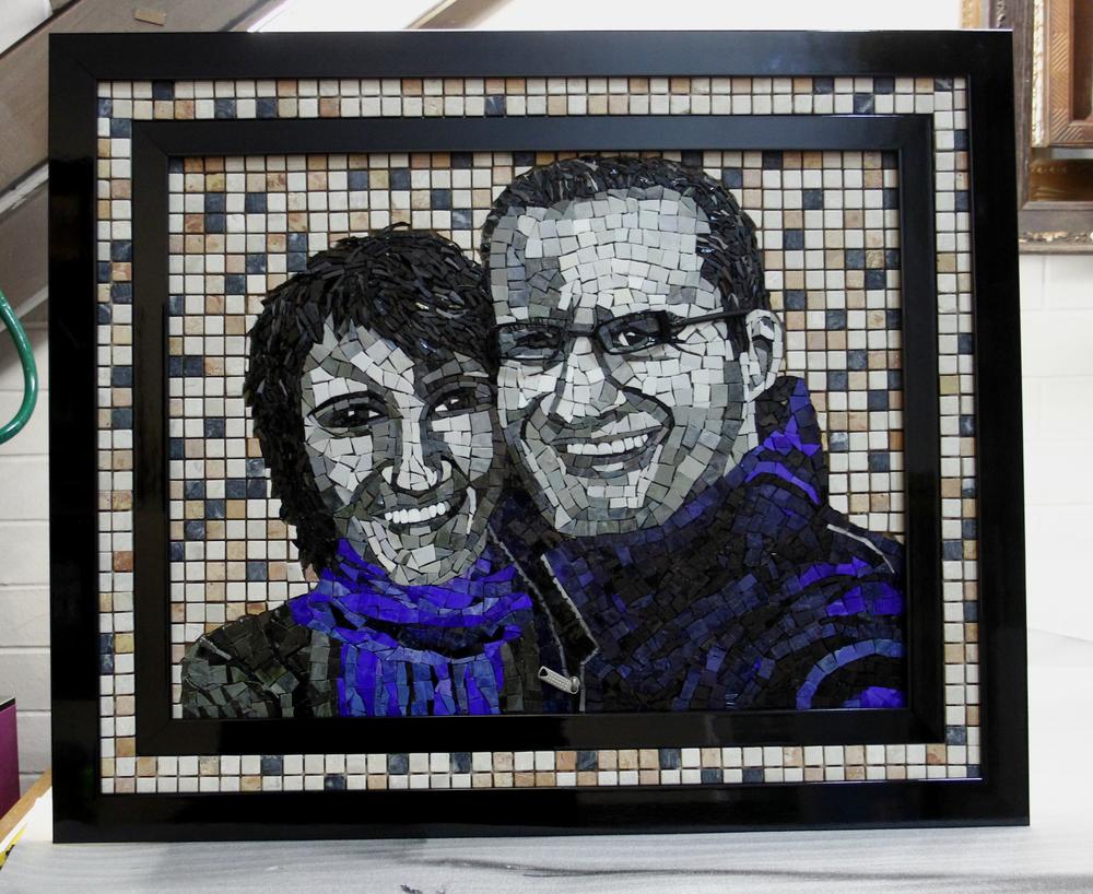 Framing Mosaic art