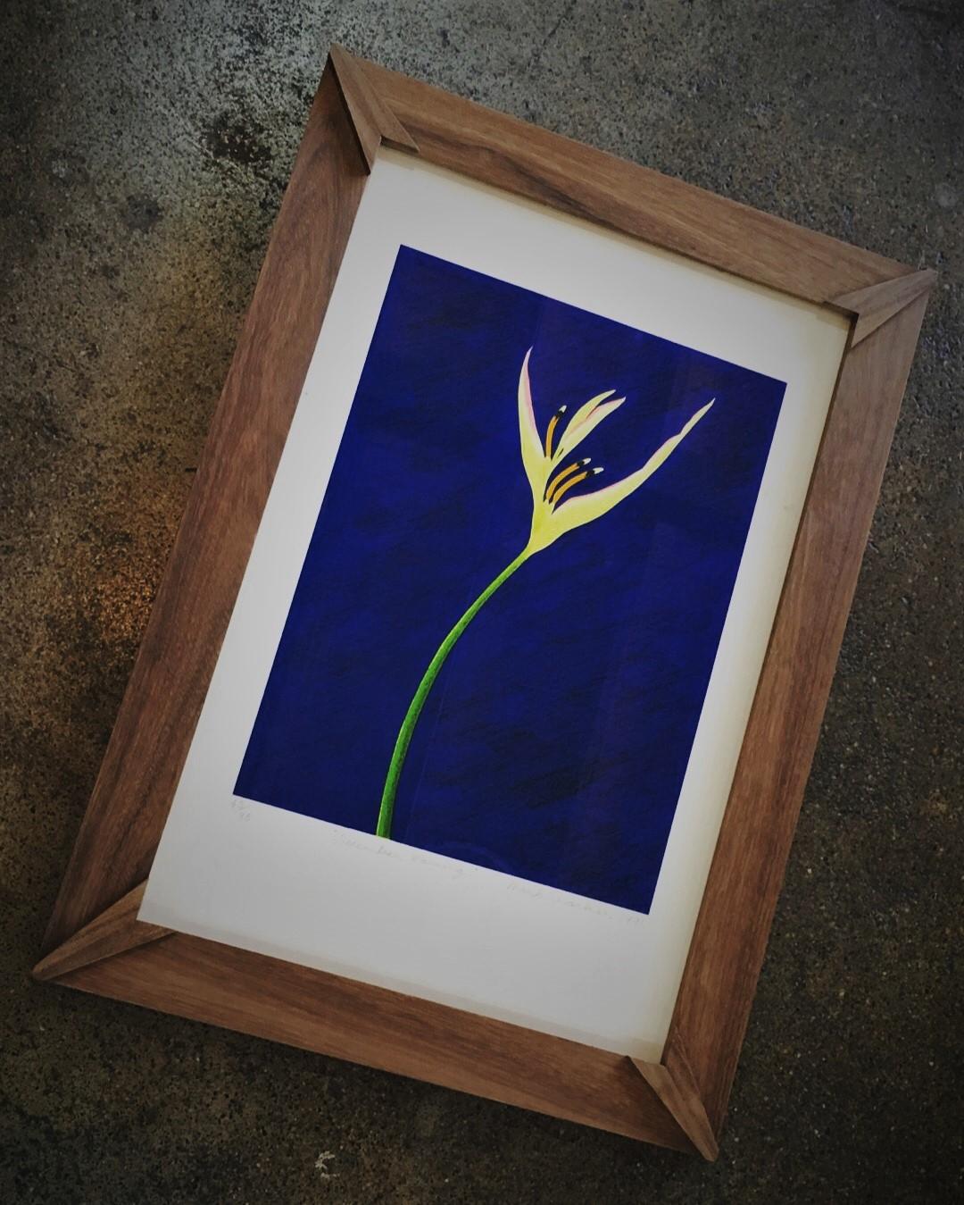 Native Blackbean Art Deco inspired ARTIS PURA designer frame