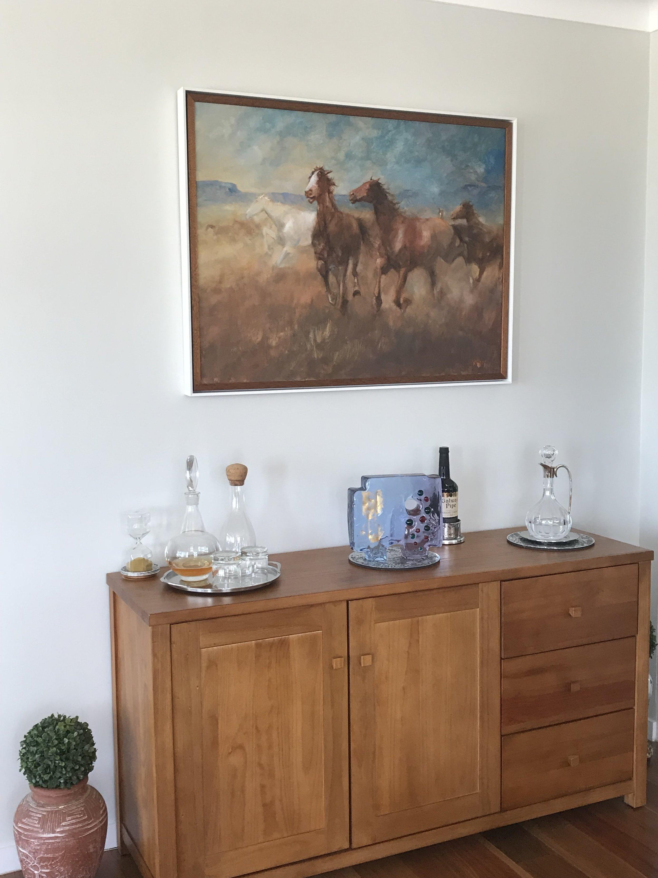 Art framing Installation Brisbane.JPG