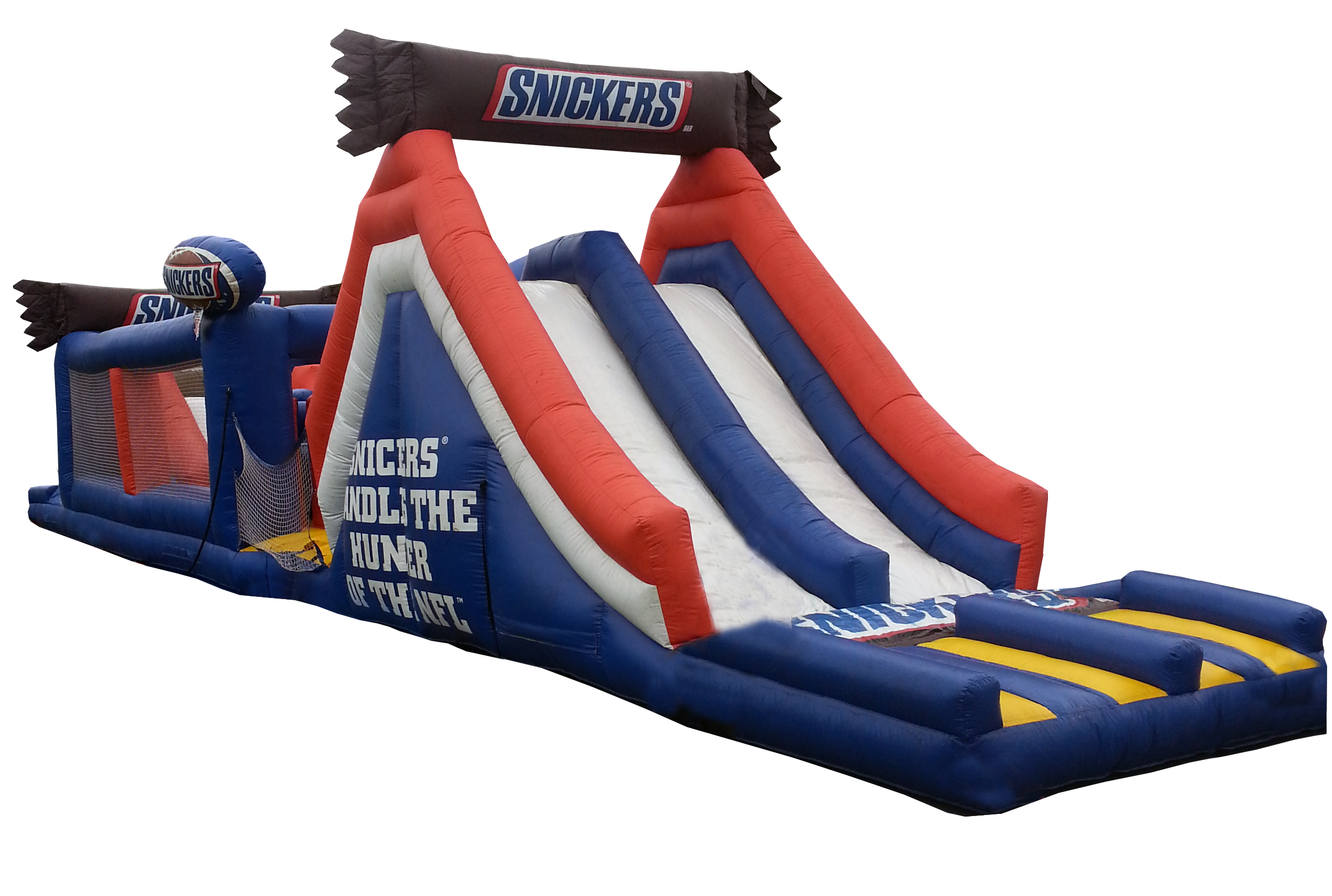Snicker's NFL Inflatable Obstacle Course