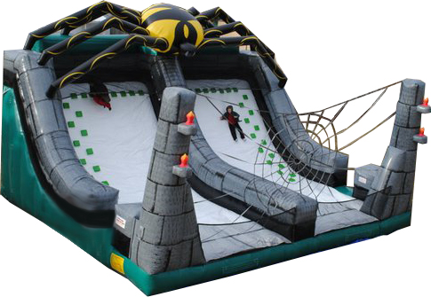 Spider Climb and Slide Inflatable