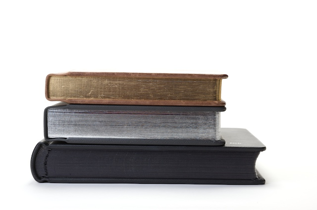 Traditional matted and flush mounted custom book options.