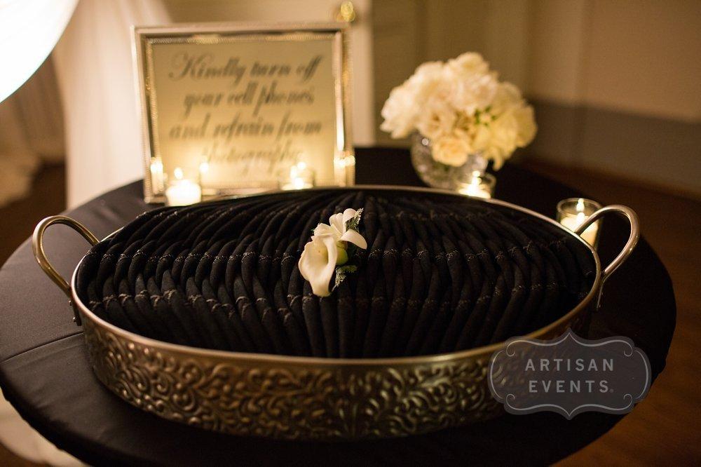 © 2015 Artisan Events  www.artisanevents.com