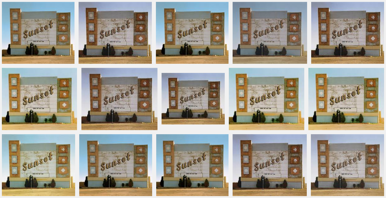 Google Search: Stephen Shore's 'Sunset Drive In, Amarillo, 1974'