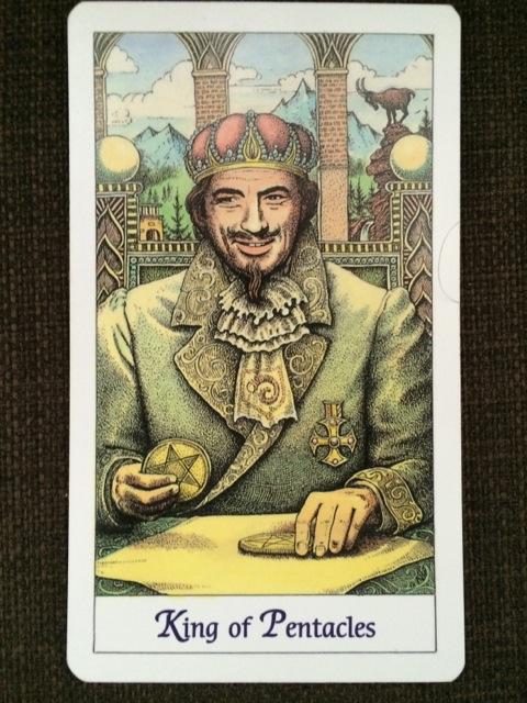 King of Pentacles, The Cosmic Tarot