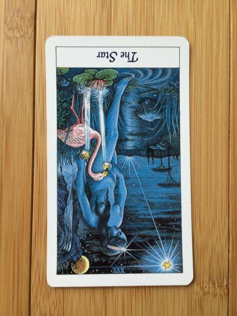 The Star card,  Cosmic Tarot