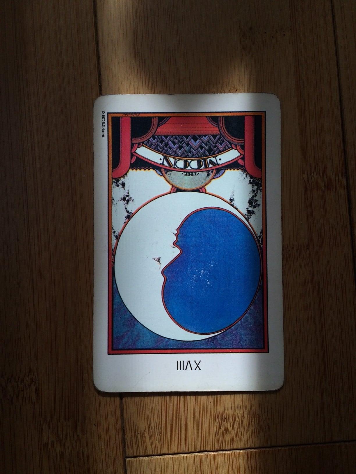 Moon card,  Aquarian tarot