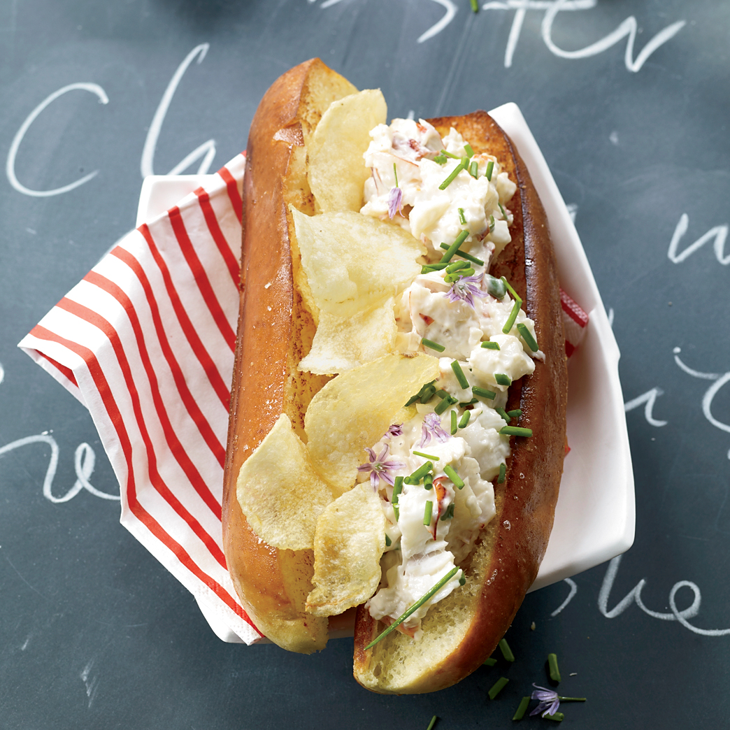 Do you love the traditional lobster rolls every Memorial Day? You'll love Food & Wine's take on it (hint: they added potato chips INSIDE the sandwich). Check out the mouth-watering recipe at Food & Wine,  here .
