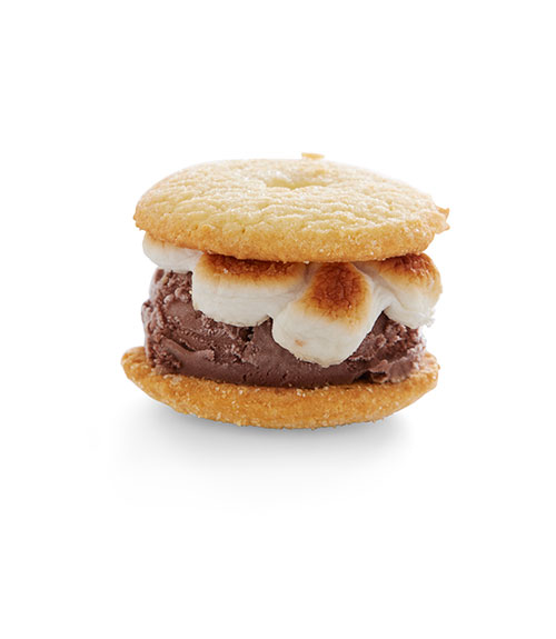 S'mores and ice cream are both fan favorites in the summer, so why not combine them? These sliders swap out graham crackers for cookies and chocolate bars for chocolate ice cream, enough said. Find the simple how-to on Delish,  here .