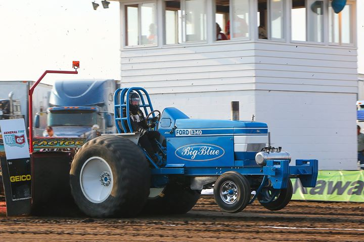 David Baehr Big Blue Ford 8340