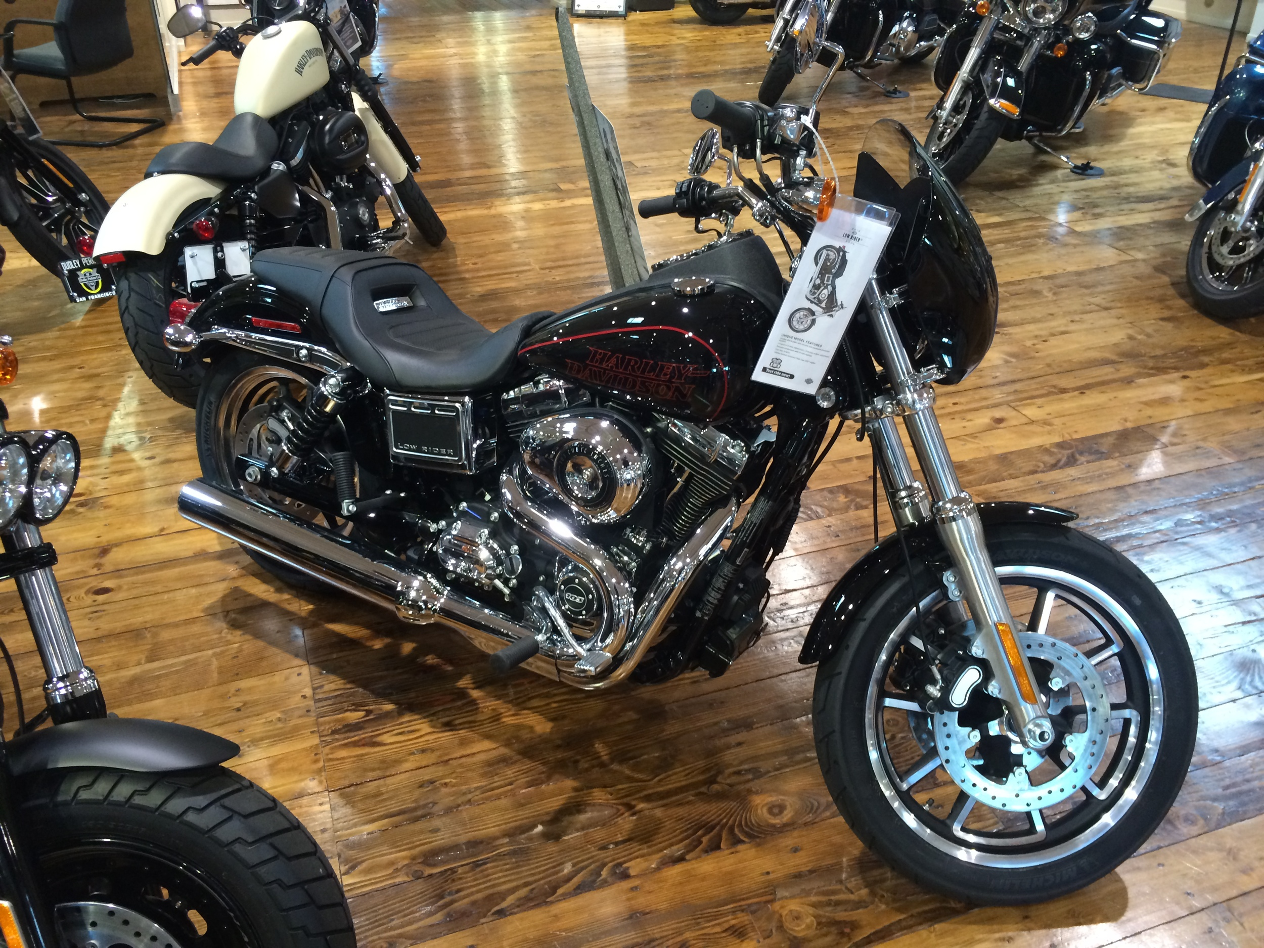 The 2014 Dyna Low Rider...