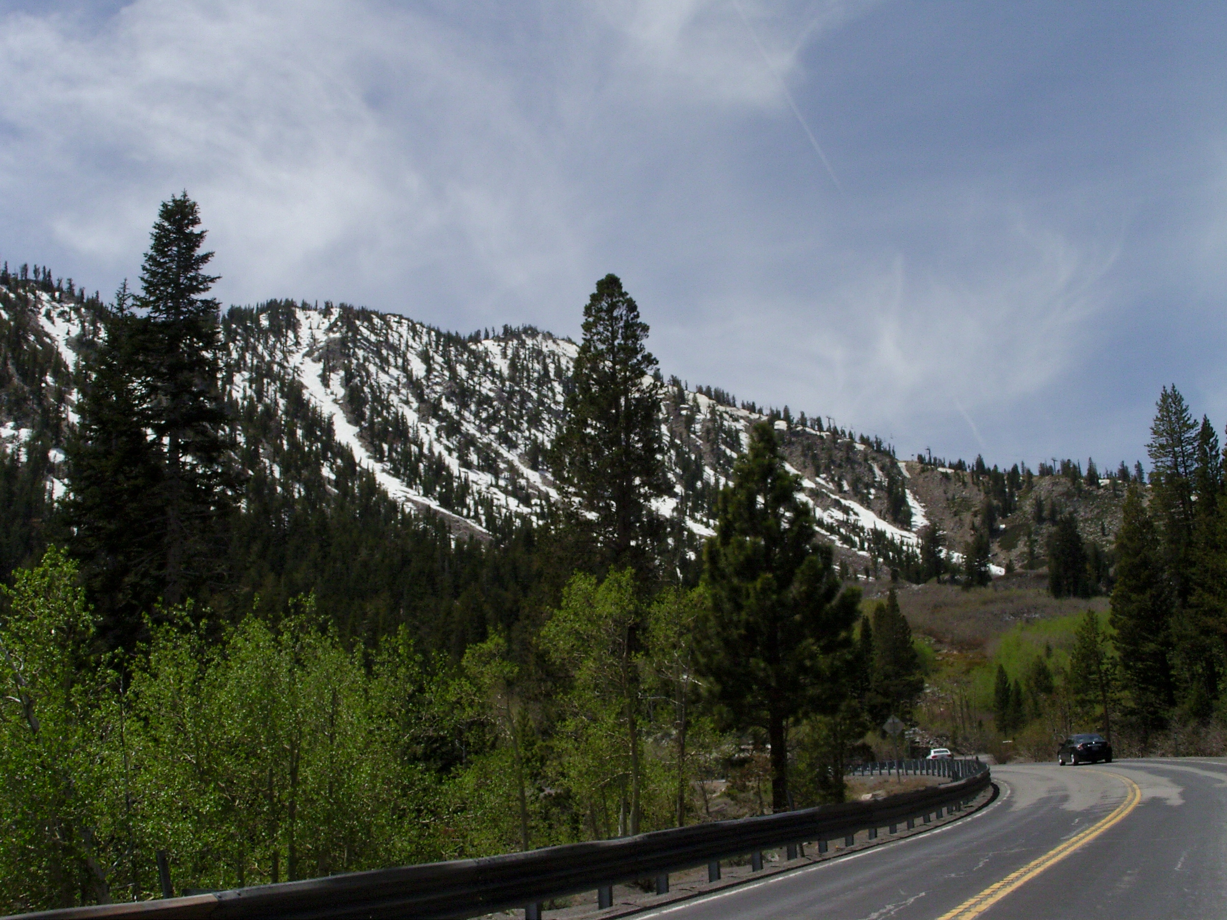 Out past Mount Rose… Elevation 8000
