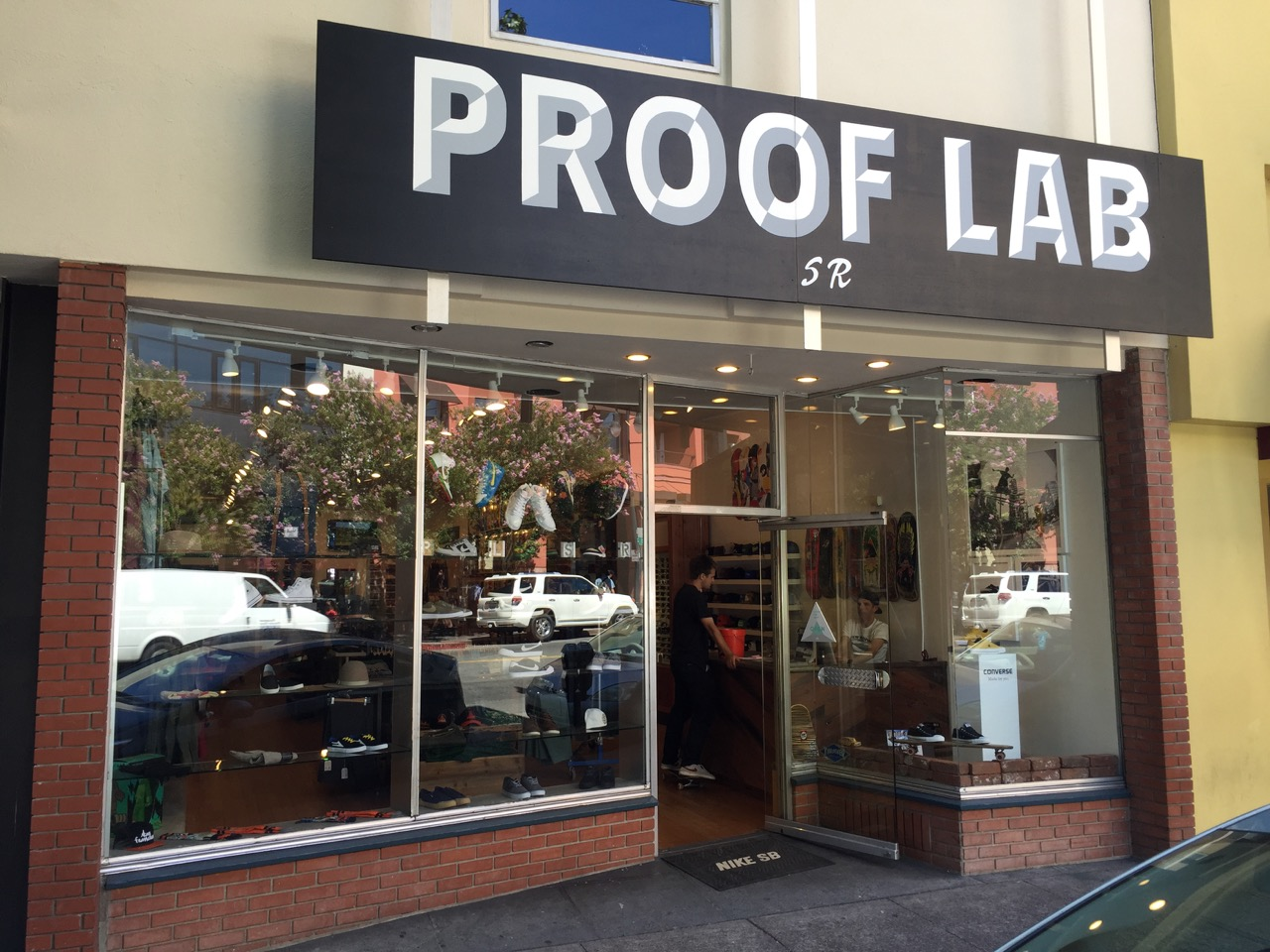 Our newest location, PLSR, is in the heart of 4th street San Rafael and proudly serves the thriving local skateboarding community. The 2,000 sq/ft shop features all of your favorite names in the game from Nike SB, HUF, Krooked, Independent, Converse,Real, Anti Hero, Welcome, Vans, Thrasher and more. Come in and get set up by the pros.