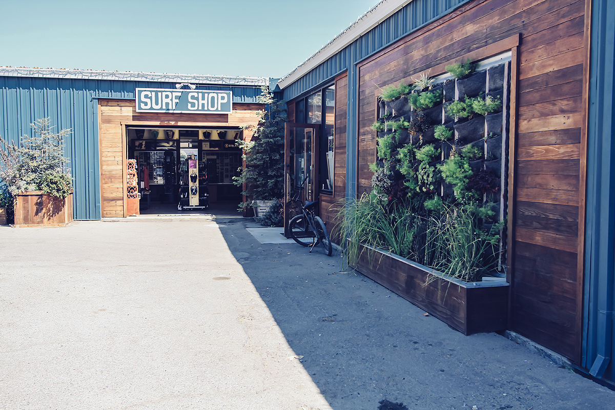 Proof Lab's largest centralized location is the Surf Shop located at 244 Shoreline Hwy. in Tam Junction, the gateway to Northern California. Housed in this multifaceted warehouse you'll find a great selection of all of your favorite surf and skate brands, hundreds of surfboards, skateboards, wetsuits, an indoor skatepark, Equator Coffee shop, the Magic West Music School, surf and skate schools and more.