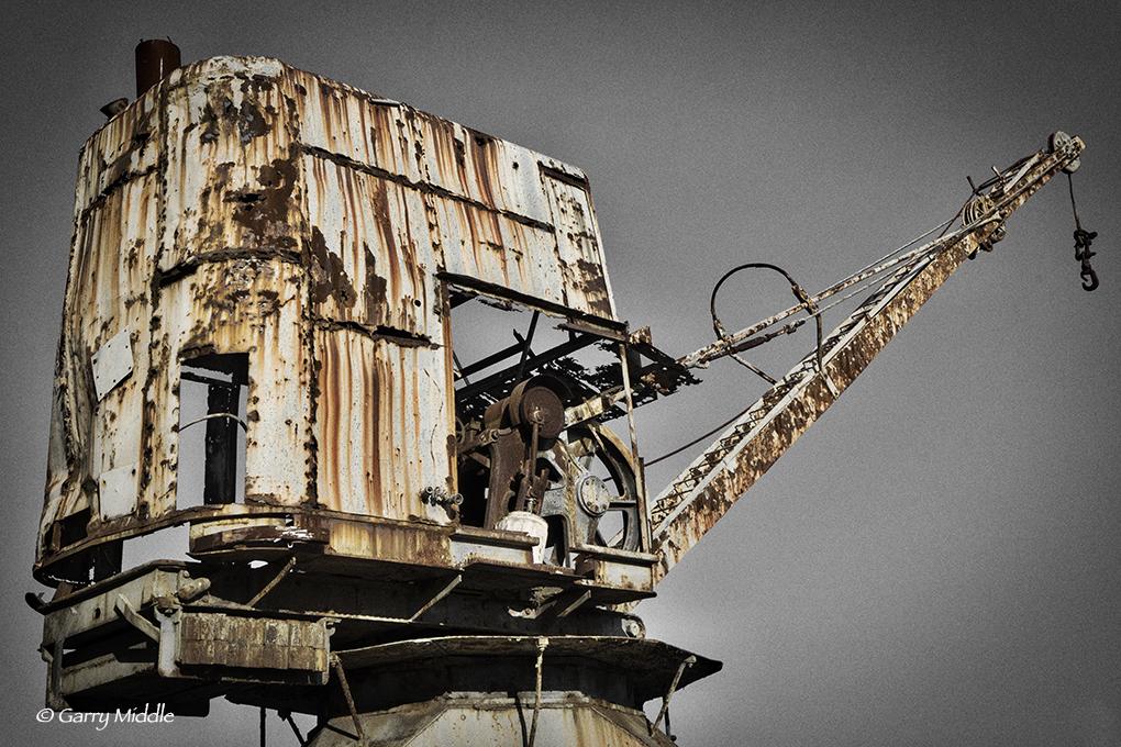 Gallery_1_small_Cockatoo Island crane B&W&Rust.jpg