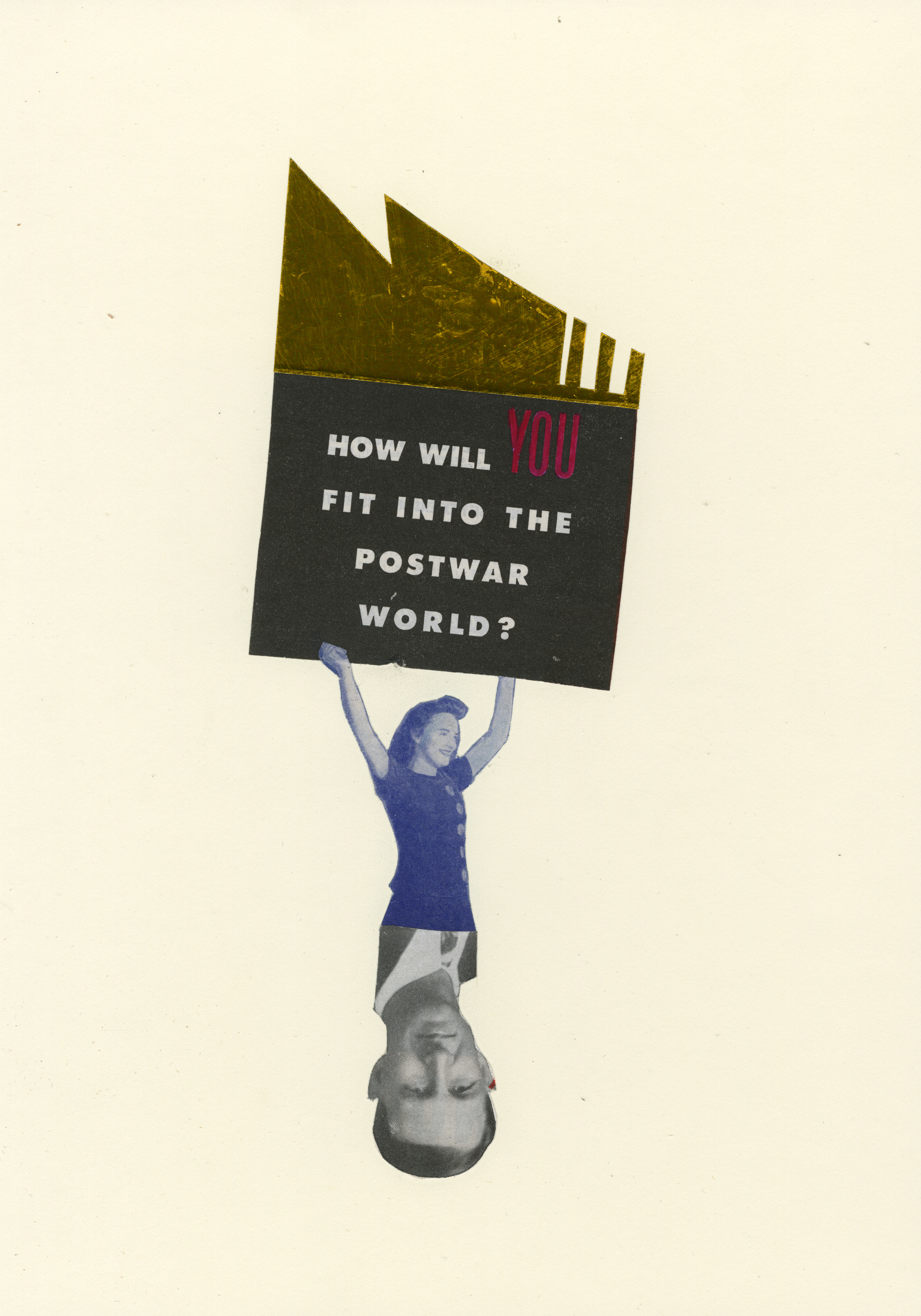 Postwar World | Collage | 8 x 11