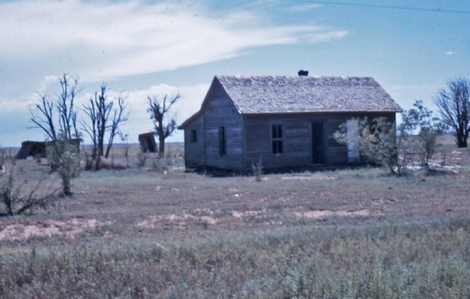 Birthplace of author's mother in northeast New Mexico