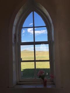 St. John's Methodist Episcopal Church,    Johnson Mesa, Northern New Mexico    Photograph by Author