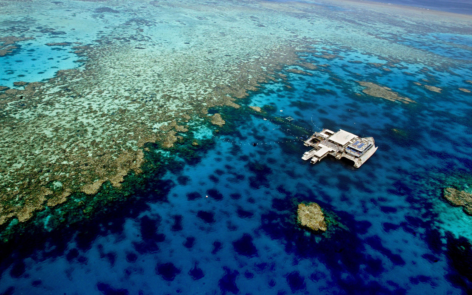 photo: The Great Barrier Reef