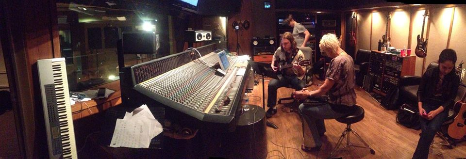 A view of the room at Desitiny Studios in Nashville, TN.